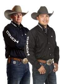 Erich Rogers and Cory Petska NFR